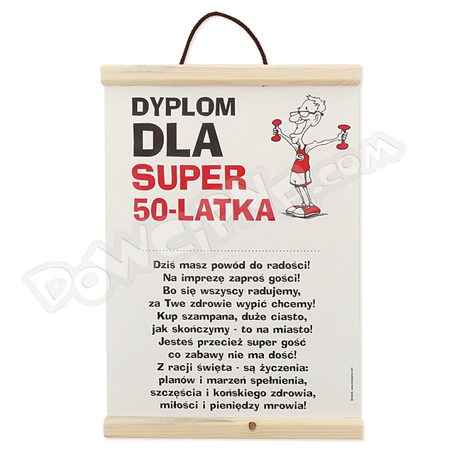 Dyplom - 50 on super