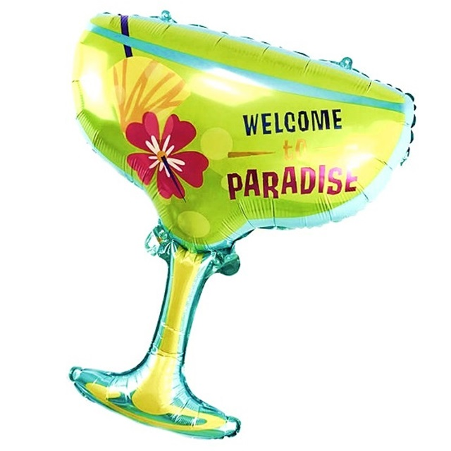 Balon foliowy Drink - Welcome to paradise