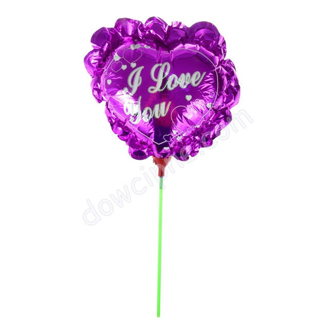 Balon foliowy I LOVE YOU 21037 (10 szt)