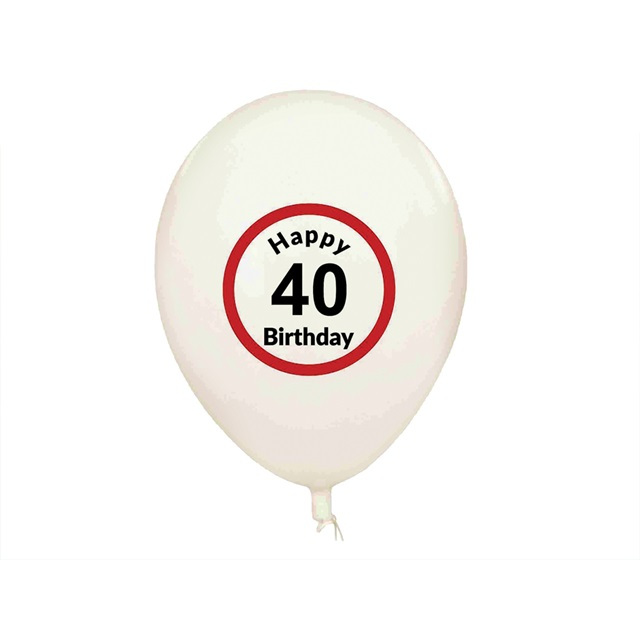 Balony Happy Birthday (5 szt.) - 40