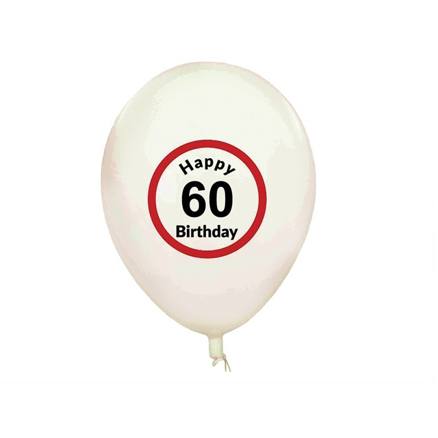 Balony Happy Birthday (5 szt.) - 60