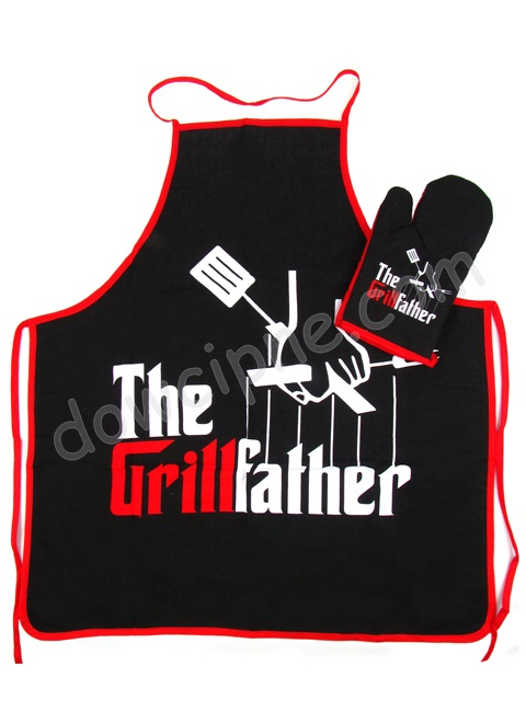 Fartuch Q komplet - The Grillfather