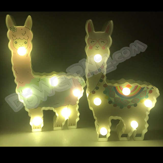 Lampka Lama 6 LED 223417 - mix